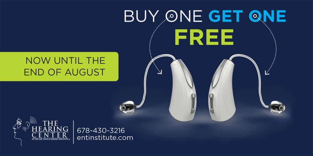Buy 1 get one free Hearing Aids